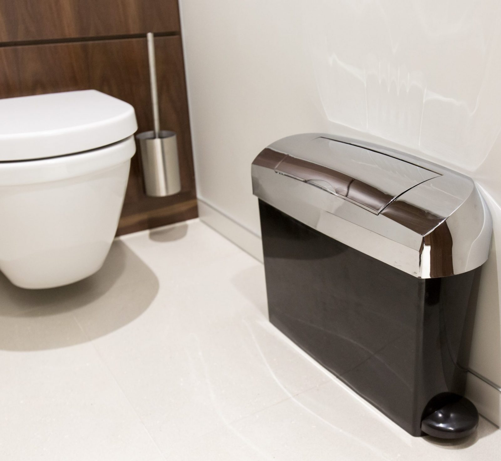 Sanitary bins for offices